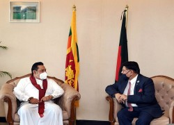 SRI LANKA TO REMAIN BESIDE BANGLADESH IN RESOLVING ROHINGYA CRISIS: MOMEN