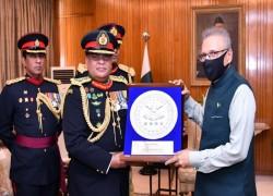 PRESIDENT URGES SRI LANKANS TO VISIT BUDDHIST TOURIST SPOTS IN PAKISTAN