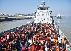 UN completes first review of Bangladesh's 'Rohingya island'