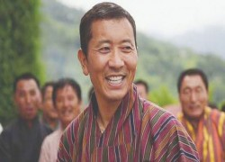 BHUTANESE PM DR TSHERING ARRIVES DHAKA