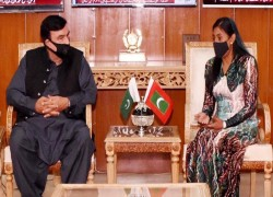 Sheikh Rashid for fostering ties with Maldives