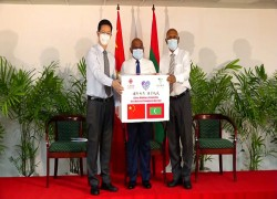 Maldives receives shipment of 100,000 Chinese Sinopharm doses
