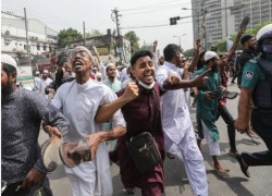 ANGER IN BANGLADESH AS INDIA'S MODI ATTENDS 50TH INDEPENDENCE DAY