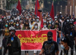 Number of protesters killed since Myanmar coup passes 320