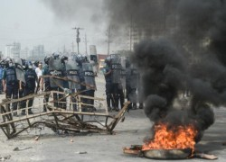 Violent protests spread in Bangladesh after Modi visit