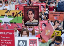 Foreign military chiefs rebuke Myanmar forces