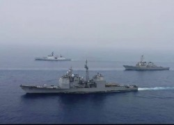 India, US start 2-day naval exercise in eastern Indian Ocean region