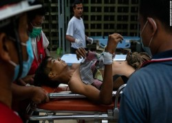 Anguish in Myanmar after weekend of 'outrageous' bloodshed