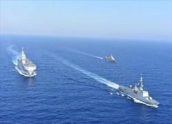 Pakistan, Qatar hold joint naval drill