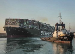 Suez canal: Ever Given container ship freed after a week