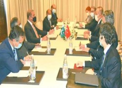 Heart of Asia-Istanbul process: Qureshi, Cavusoglu discuss bilateral ties, regional peace