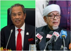 Malaysian parties Bersatu and PAS say they will face general election together, in rebuff to Umno