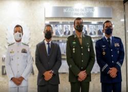 BRAZIL NAMES NEW MILITARY CHIEFS AMID TENSIONS WITH BOLSONARO