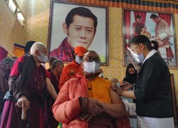 Bhutan is on brink of vaccinating its entire adult population within a week of launching campaign
