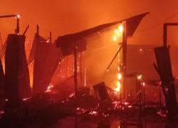 3 ROHINGYAS KILLED IN FIRE IN UKHIYA