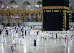 SAUDI TO ALLOW ONLY 'VACCINATED' PILGRIMS TO MAKKAH