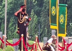 Indian Army chief holds bilateral defence talks with heads of Bangladesh army, navy