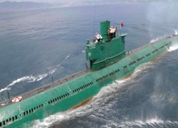 North Korea completes building new 3,000-ton submarine: report