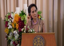 'SUU KYI KEPT UNDER MYANMAR MILITARY'S WATCHFUL EYE'