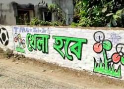 পশ্চিমবঙ্গে নির্বাচন: প্রচারে, স্লোগানে বাংলাদেশ