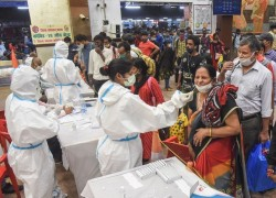 1.84 LAKH INDIA COVID CASES IN NEW DAILY HIGH, 1,027 DEATHS IN 24 HOURS