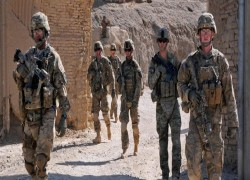 NATO forces to leave Afghanistan together, US says