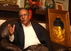 Is Pushpa Kamal Dahal, Nepal's former guerilla chief, headed for shedding the Maoist tag for good?