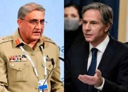 US Secretary of State telephones army chief to discuss drawdown plan