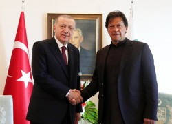 'PAKISTAN TO EXTEND ALL POSSIBLE SUPPORT FOR DURABLE PEACE IN AFGHANISTAN', IMRAN TELLS ERDOGAN