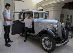Prince Philip's car becomes Sri Lankan royal artefact