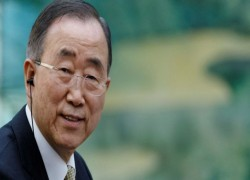 FORMER UN LEADER PRESSES FOR 'STRONG ACTION' ON MYANMAR