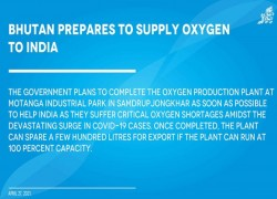 Bhutan prepares to supply oxygen to India
