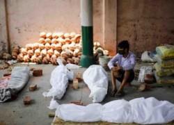 দিল্লির শ্মশানে সরকারি হিসাবের দ্বিগুণ মরদেহ