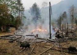 TWO MYANMAR AIR BASES COME UNDER ATTACK