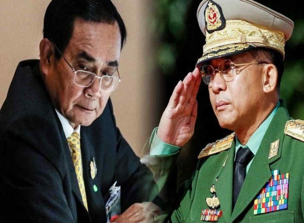 Thai PM and Myanmar junta chief stay engaged via back channels