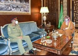 Army chief Bajwa meets Saudi Crown Prince Salman