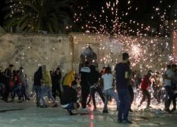 SCORES OF PALESTINIANS HURT AS ISRAEL POLICE STORM AL AQSA: LIVE