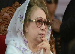 Khaleda's treatment abroad: Law ministry says 'no'