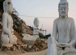 Myanmar junta goes big on giant Buddha statue in midst of crisis