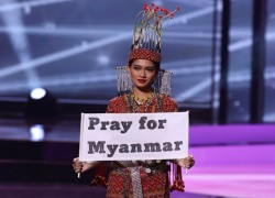 'Pray for Myanmar': Miss Universe pageant gets political