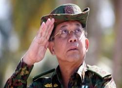 Junta lifts age limit for Min Aung Hlaing position
