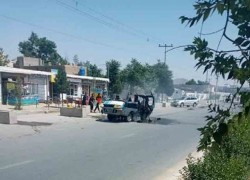 4 PEOPLE KILLED, 4 WOUNDED IN KABUL BLAST
