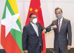 Are formal interactions with China helping legitimise Myanmar's junta in the eyes of the world?