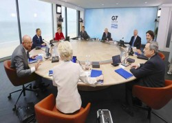 G-7 agrees on infrastructure plan to counter China's Belt and Road