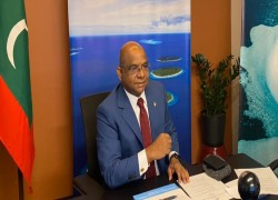 Maldives FM, elected to top UN post, says domestic opposition is playing a 'geopolitical football' game