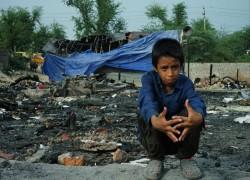 New Delhi shanty town blaze exposes plight of India's Rohingya refugees