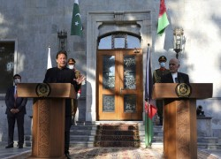 Imran Khan: Pakistan is ready to be a partner for peace in Afghanistan, but we will not host U.S. bases
