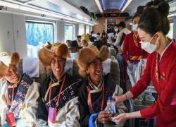 ভারত সীমান্তের কাছ দিয়ে তিব্বতে যাচ্ছে চীনের বুলেট ট্রেন