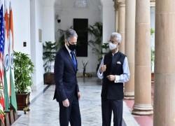 Blinken's single-point agenda in Delhi – China