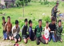 DOZENS OF MYANMAR RESISTANCE FIGHTERS SEIZED IN SAGAING REGION